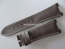 Patek Philippe Nautilus 25mm Brown Silicone Rubber Strap
