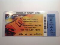 Doobie Brothers concert ticket stub.....  {{FREE SHIPPING}}