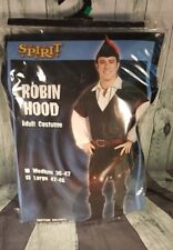 (SPIRIT) ROBIN HOOD ADULT COSTUMES LARGE 42-46
