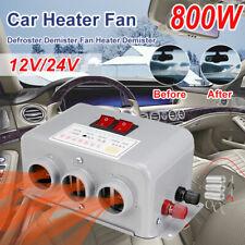 800W 12V Car Portable Fan Air Heater Demister Defroster Heating Warm