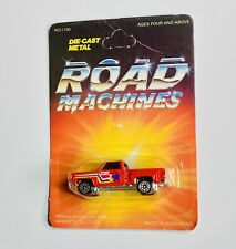 1986 Road Machines Red Cosmos Truck Die-Cast Metal Road Champs