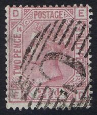British Levant 1876 SG141 2 1/2d Rosy Mauve Pl 14 ED Fine Used in Constantinople