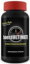 Ultimate Male Testosterone Booster by boostULTIMATE - Rated # 1, 60 Capsules