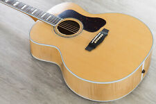 Guild Guitars F-55E Acoustic Electric Guitar, Maple Back & Sides, Natural