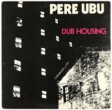 PERE UBU - Dub Housing - 1979 US LP Chrysalis