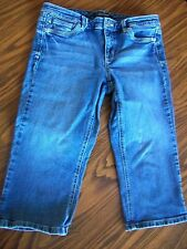 White House Black Market SZ 6R BLANC pedal pusher jeans Great condition!!