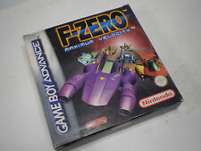 F-Zero Maximum velocity Nintendo Gameboy Advance GBA Nuovo