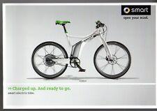 Smart Electric Bike ebike 2012 UK Market Sales Brochure