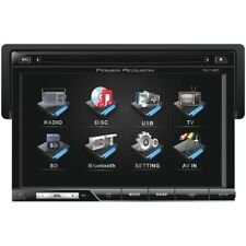 """New listing Power Acoustik 7"""" Single-din In-dash Lcd Touchscreen Dvd Receiver (with Blu"""