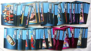 STAR TREK: NEXT GENERATION Season 5 trading cards (Impel, 1992) compete base set