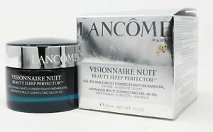 Lancome Visionnaire Nuit Beauty Sleep Perfector  1.6oz/50ml New With Box