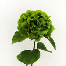Artificial Silk Green Giant Hydrangea 70cm Single Stem Wedding Flowers