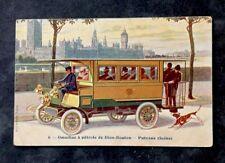 CPA. DION-BOUTON. Omnibus à pétrole. PUTEAUX (Seine). 92. Voiture. Automobile.