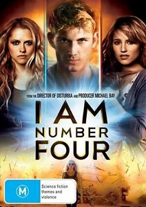 I Am Number Four DVD (Pal, 2011) FREE POST