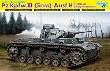 Dragon 1:35 6641: Panzer Pz.Kpfw.III (5cm) H, Sd.Kfz.141, frühe Produktion
