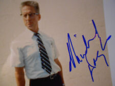 """Micheal Douglas signed photo from """"Falling Down"""" movie"""