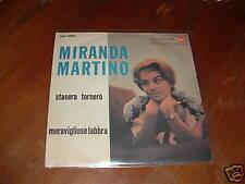 "MIRANDA MARTINO "" STASERA TORNERO' - MERAVIGLIOSE LABBRA ""  ITALY'59"
