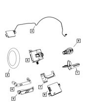 Genuine MOPAR Wireless Ignition Node Receiver 68210155AB