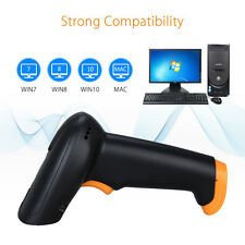 2.4G USB Charging Cable Wireless Cordless Portable Laser Barcode Scanner Reader