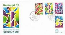 Suriname republiek 1992 FDC E160 onbeschreven open klep