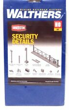 HO Scale Walthers Cornerstone 933-4074 Security Details Kit