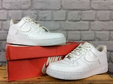 Nike Pour Hommes UK 6 EU 40 Blanc Air Force 1 Low Cuir Basketball Baskets
