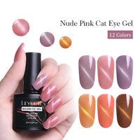 LILYCUTE Magnetic Gel Polish  3D Cat Eye Soak Off Nail Art UV Gel