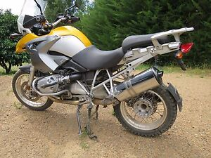 BMW R1200GS 2004 MOTORCYCLE OEM  MUFFLER 500+ USED BMW  PARTS IN STOCK WRECKING