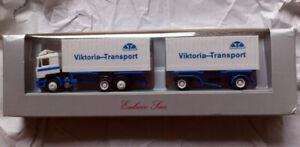 Herpa MAN TRUCK Viktoria-Transport 1/87 FINISHED MODEL TRUCK