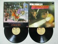 "2 LP 33T KIM FOWLEY ""Outrageous / Good clean fun"" UAD 60075/76 FRANCE  /"