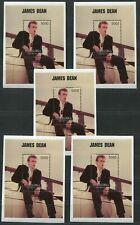 5 Stück tolle Blocks postfrisch, James Dean