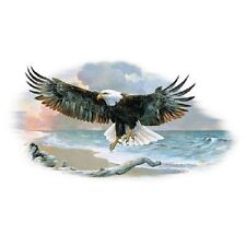 "EAGLE called ""OF MAN & NATURE II"" on ONE 18""x22"" FabricPanel toSew.Pic is 9""x14"""