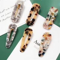 Women's Snap Slide Hair Grip Hair Clips Barrette Hair Pins Accessories