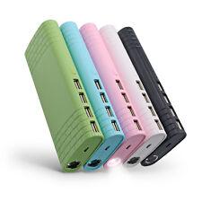 Portable Power Bank 100000mAh 4 USB Ports Battery Backup Pack Quick Charger LED