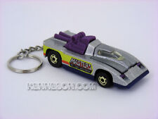 Custom Keychain Snake Busters Car Masters of the Universe Metallic Silver