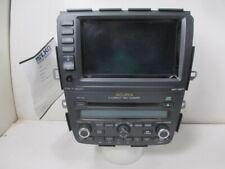 2006 Acura MDX Navigation XM 6 CD Player Radio w/ Display 1AF2 OEM