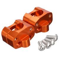"""HandleBar Bar Mount Clamps Riser Adaptor 7/8"""" To 1 1/8"""" Fit Dirt Pit Bike ATV"""