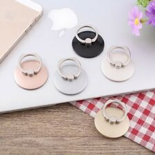 Universal 360 Rotating Finger Ring Stand Holder For Cell Phone Smartphone -Round