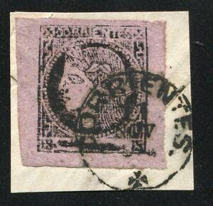 JA044) Argentina Corrienties old stamp Vf margin on paper