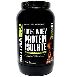 Nutrabio Whey Protein Isolate - Dutch Chocolate