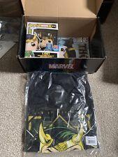 Funko Pop! Loki Free Comic Book Day Mystery Box Complete Mint T-shirt Large