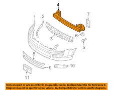 FORD OEM Front Bumper-Impact Bar Reinforcement Beam Support Rebar 6E5Z17757AA