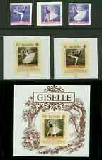 Seychelles 1986 Ballet MASTER PROOFS on plastic