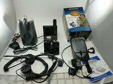 Plantronics Parts including Bases, Headsets and Power Cords- See Description