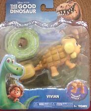 NIB Disney Pixar The Good Dinosaur Vivian Poseable with Bonus Action Figure