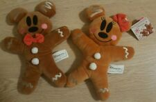 SET MK & MN PAIN D'EPICE / Mickey and Minnie Gingerbread Disneyland Paris