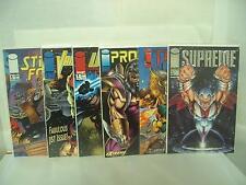 Union Supreme Troll Prophet Stryke Force Vanguard #1 Image Comics comic book lot