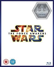 NEW Star Wars The Force Awakens Lightside Limited Edition Sleeve 2-Disc Blu-ray