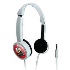 Dalmatian Dogs Firefighter Fire Helmet Portable Foldable On-Ear Headphones