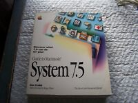 Guide to Macintosh System 7.5 500 Pages Book